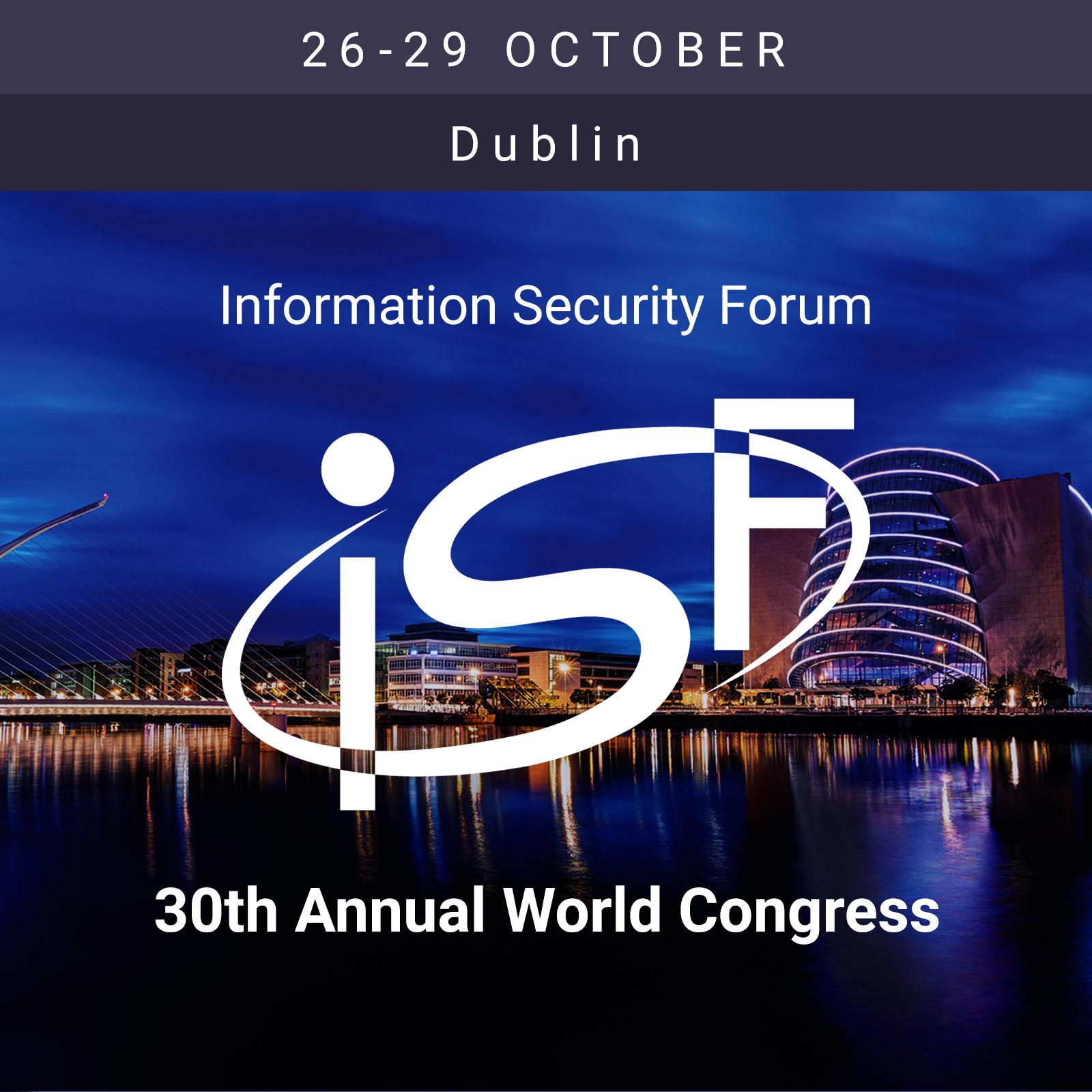 ISF Dublin - 30th World Congress