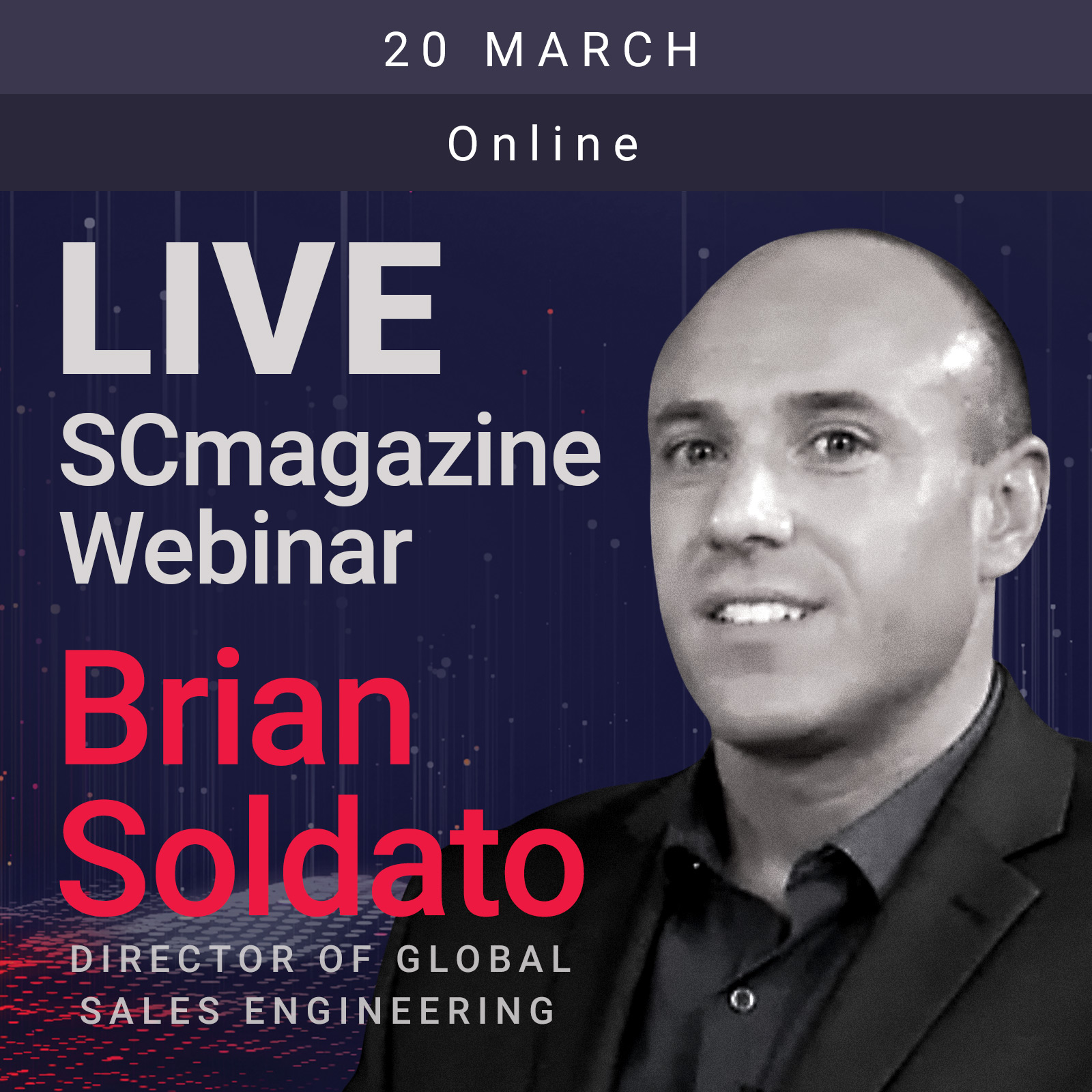 SC Magazine Webinar 2019 - Brian Soldato