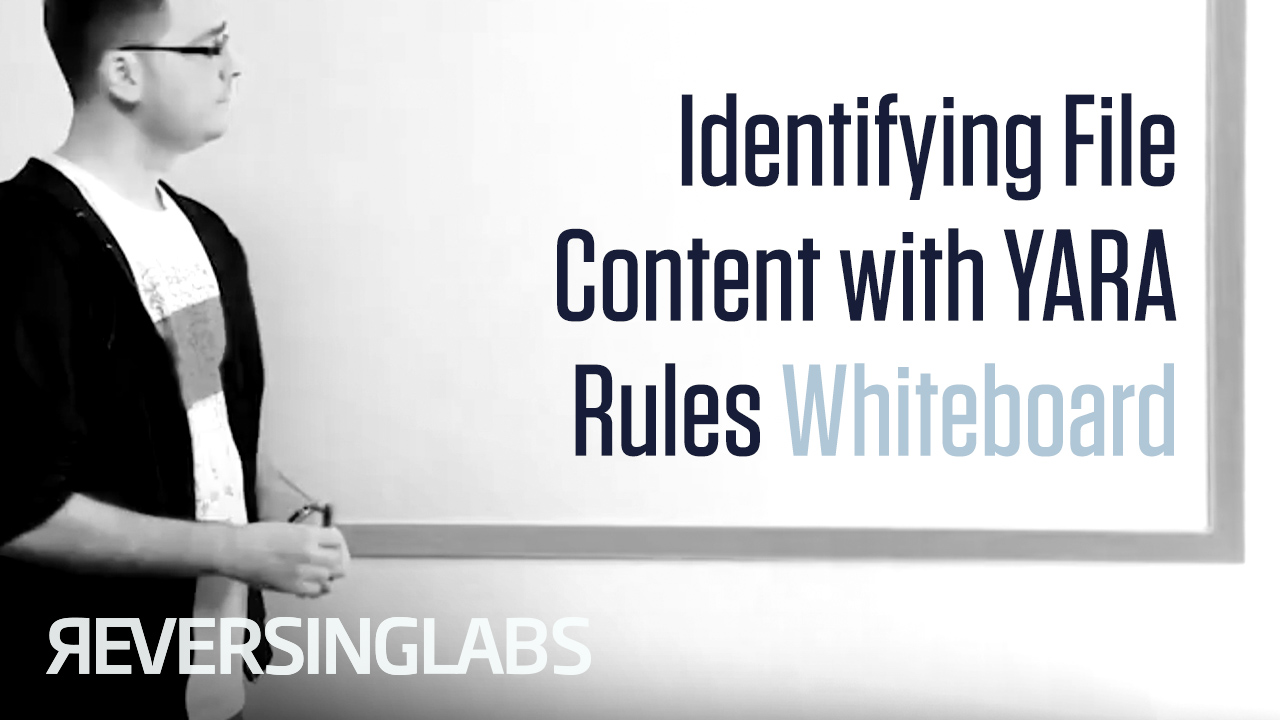 Identifying File Content with YARA Rules Whiteboard