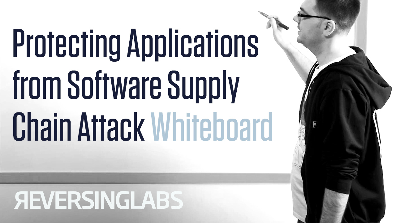 Protecting Applications from Software Supply Chain Attack Whiteboard