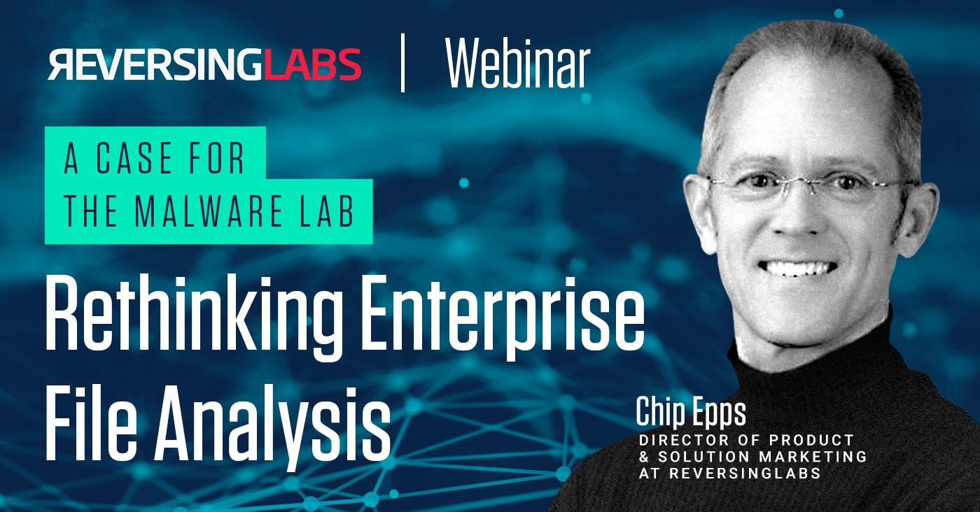 Rethinking Enterprise File Analysis
