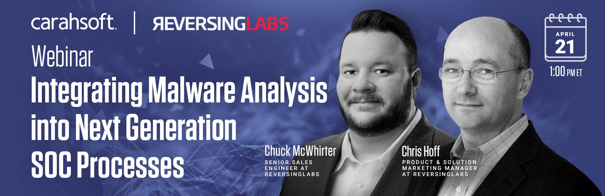 Integrating Malware Analysis intoNext Generation SOC Processes