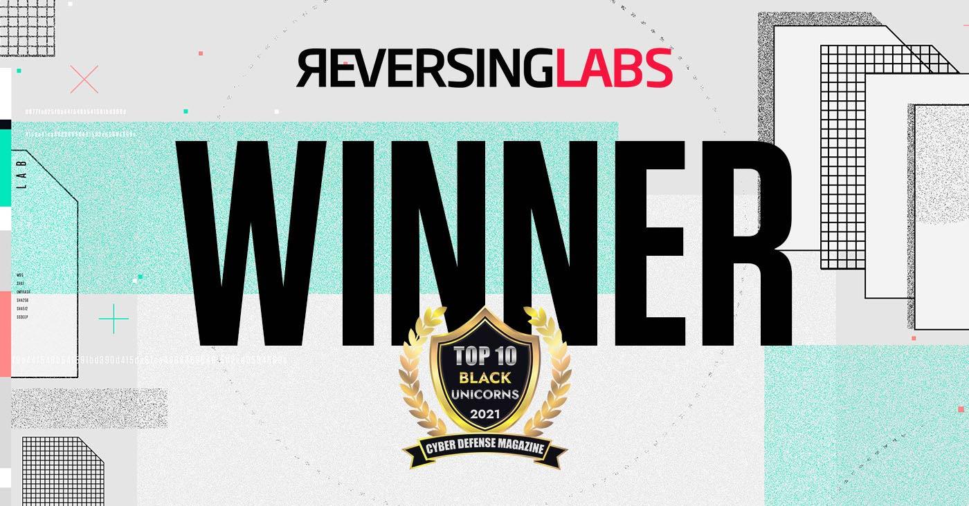 ReversingLabs Named Winner in Black Unicorn Awards for 2021