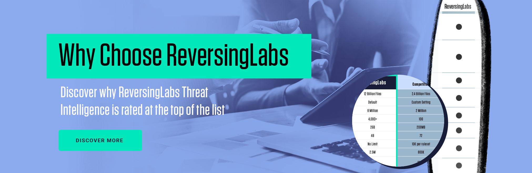 Why Choose ReversingLabs
